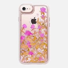 Casetify iPhone 7 Glitter case - vintage flowers by Marianna Glitter Phone Cases, Iphone6, Vintage Flowers, Tech Accessories, Casetify, Classic, Derby, Classic Books, Retro Flowers