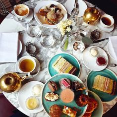 """""""Afternoon tea at @barbecoa piccadilly"""