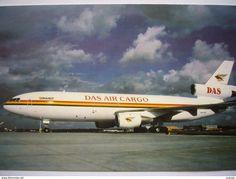 Avion / Airplane / DAS AIR CARGO / DC 10 / Registered As N800WR / Airline Issue - 1946-....: Ere Moderne