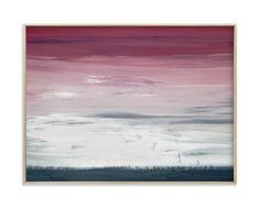 """""""Winter Ground"""" - Art Print by Katherine Moynagh in beautiful frame options and a variety of sizes."""