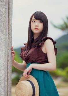 Hot Japanese Girls, Beautiful Japanese Girl, Beautiful Asian Women, Cute Asian Girls, Cute Girls, Japan Fashion, Girl Fashion, Prity Girl, Teen Girl Poses