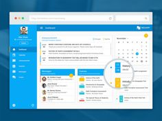 This poat showcases the best collection of free dashboard ui design psd, you can use them for your own purposes . Dashboard Ui, Student Dashboard, Dashboard Design, Design Websites, Ui Design, Flat Design, Geography Test, Free Education, Education College