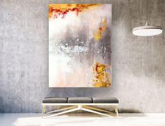 Paintings on Canvas Hallway Wall Decor, Bathroom Wall Art, Bathroom Paintings, Hallway Ideas, Large Abstract Wall Art, Abstract Paintings, Canvas Paintings, Texture Painting On Canvas, Large Painting
