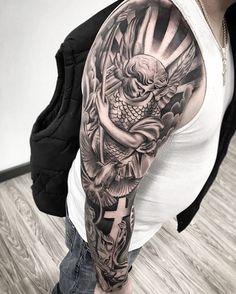 "2,803 Likes, 8 Comments - Em Morris (@artisticendeavorsem.morris33) on Instagram: ""Amazing artist Ridnel Silva @ridnelstattoo awesome angel clock rose a tattoo! @art_spotlight…"""