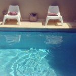 A pool Villa; summer monthly rent in ancient beach city; Caesarea, Israel, Sea view, 4 fully furnished floors,up to 12 persons, contact , Edith