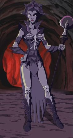 Evil-Lyn is a character in the popular Masters of the Universe toy line and the accompanying...