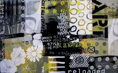 reloaded | Siebdruck + Malerei | 160cm x 100cm