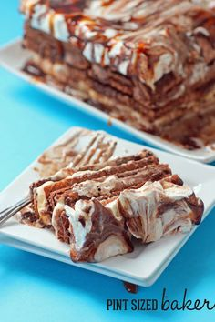 Chocolate Wafer Cookie Icebox Cake