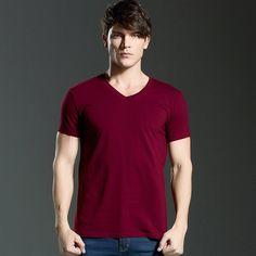O'Neck Slim Fit Short Sleeve T-Shirt For Men. #Mentshirt #ShopOnline #MehdiGinger
