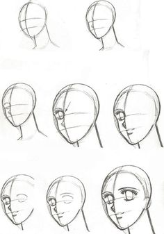When you are done practicing feeling confident enough to draw new characters and poses, try drawing a profile or a semi-profile portrait of a character.