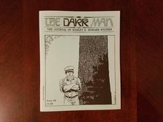 Book Haul/Spotlight – The Dark Man: The Journal of Robert E. Howard Studies #4