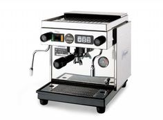 State of the art espresso machine. But does it come with a barista??