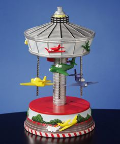 Airplane Carousel Musical Figurine by The San Francisco Music Box Company #zulily #zulilyfinds