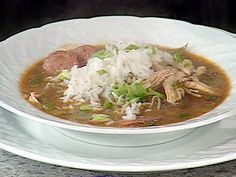 Use leftover turkey in this Turkey Andouille Gumbo #EmerilsHoliday