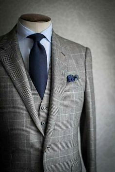 Poseidon I like the blue of the shirt, tie, and pocket square modern, chic, elite