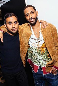 Big Sean - Hangs with Aziz Ansari at SNL