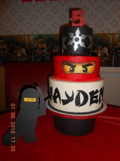 Delicious Homemade Cakes for your Special Occasion. We make Puerto Rican style cakes and. Ninjago Cakes, Paw Patrol Birthday Cake, Chantilly Cream, Almond Cakes, Homemade Cakes, Chocolate Ganache, 5th Birthday, Fresh Fruit, Blessing