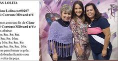 Receita de Tricô: Pelerine em tricô receita Vitória Quintal