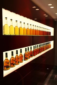 Image result for whiskey bar display