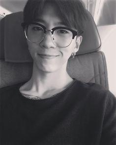 Hot nerd Yongguk everyone