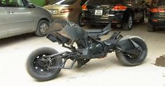 BatBikes and hover-bikes become reality for geek mechanics