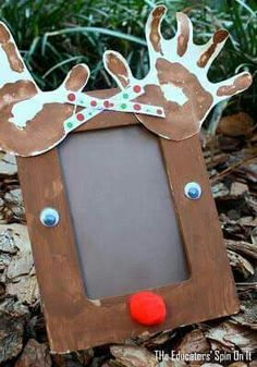 Reindeer photo frame