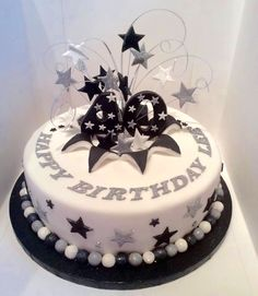 Mens 40th birthday cake