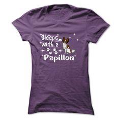 Papillon T-Shirts, Hoodies. GET IT ==► https://www.sunfrog.com/LifeStyle/Papillon-69781447-Ladies.html?id=41382