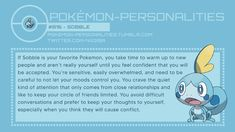 Pokemon Personalities: #816 Sobble