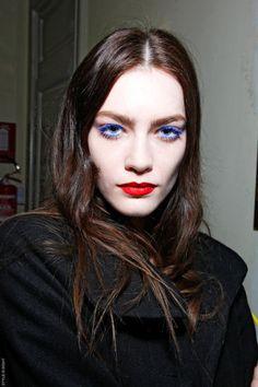 Purple lashes!