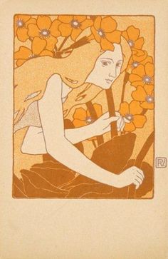 Decoration by Vojtěch Preissig, 1903. www.esbirky.cz, CC0