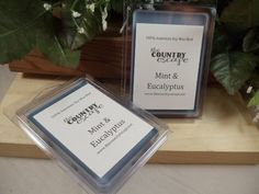 Mint and Eucalyptus Scented 100% Soy Wax Melt - Aromatic and Refreshing Scent- Maximum Scented on Etsy, $2.95