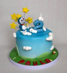 Doraemon cake — Children's Birthday Cakes