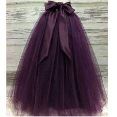 Puffy Dark Purple Long Tulle Skirts For Women With Riffon Sash Puffy Tutu Skirt Female Adult Saias Custom Made New Elastic Diy Robe Tulle, Diy Tulle Skirt, Robes Tutu, Long Tutu Skirt, Long Tulle Skirts, Adult Tulle Skirt, Tulle Tutu, Black Tulle Skirt Outfit, Adult Tutu