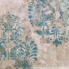Royal Design Studio Wall Stencils Partners with NovaColor Textured Finishes for Decorative Painters