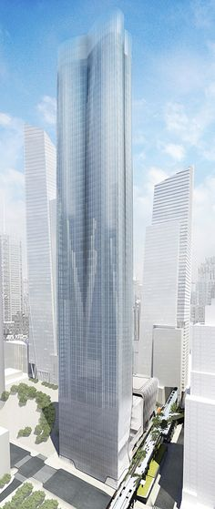 15 Hudson Yards, located at the northeast corner of 30th St and 11th Ave, will be the first residential building to open at Hudson Yards. Designed by Diller Scofidio + Renfro and Rockwell Group, in collaboration with Ismael Leyva Architects, 15 Hudson Yards will stand 910 feet tall with 70 stories.The 960,000-square-foot LEED Gold-designed building will offer 385 for-sale and rental residences.