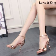 Cheap Women's Pumps, Buy Directly from China Suppliers: Ladies Sexy Pointed Toe Rivet Buckle Strappy Stilettos Pumps Summer High Heels Pumps ShoesUSD 55.77/piec