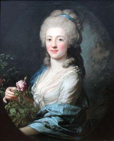 In the Past — Portrait of Juliane Wilhelmine Bause, by Anton...