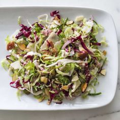 Brussels Sprout Salad with Warm Bacon Vinaigrette | Cook's Illustrated