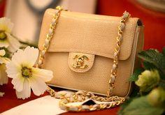 Chanel Wheat Colored Chain Bag <3<3