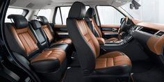 13 Model Year Range Rover Sport - Autobiography interior in Le Mans
