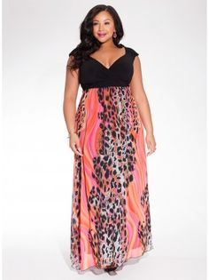 Willa Plus Size Maxi Dress