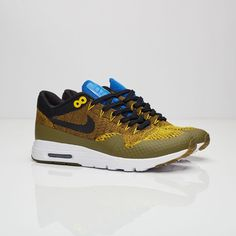 low cost 3c72f ecaba Nike W Air Max 1 Ultra Flyknit - - Sneakersnstuff. Tiffany Green