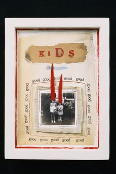 Could easily do something like this with an image of your own children for their room...just sayin...Lynn Whipple