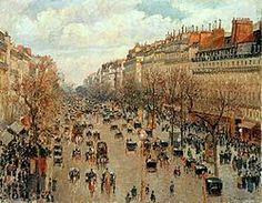 off Hand made oil painting reproduction of Boulevard Montmartre, Afternoon Sun, one of the most famous paintings by Camille Pissarro. This fascinating series, produced in was painted when Camille Pissarro rented a room at the . Renoir, Claude Monet, Painting Prints, Fine Art Prints, Paris Painting, Oil Paintings, Acrylic Paintings, Camille Pissarro Paintings, Pissaro Paintings