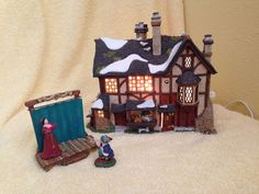 """Dept 56 Dickens Village """"Shakespeare's Birthplace"""" #56.58515"""