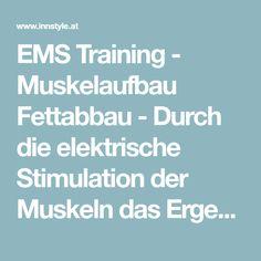 EMS Training - Muskelaufbau Fettabbau - Durch die elektrische Stimulation der Muskeln das Ergebnis eines 2 Stunden Fitnesstrainings erreichen.