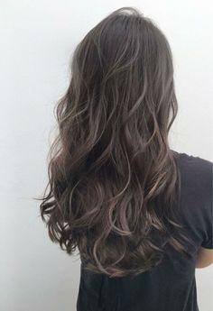 Ashy Hair, Brown Hair Balayage, Hair Color Balayage, Brown Blonde Hair, Hair Highlights, Medium Hair Cuts, Medium Hair Styles, Curly Hair Styles, Cool Tone Brown Hair