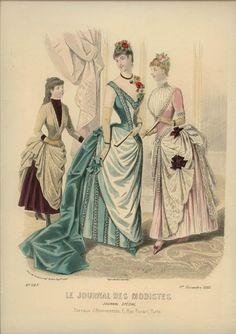Le Journal des Modistes 1885