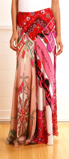 Maxi Skirt-- absolutely stunning.